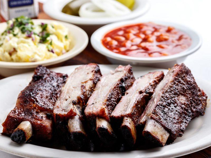 Pork Rib Dinner - Lukas BBQ
